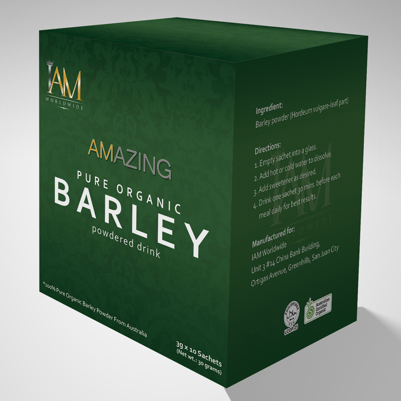 Organic Beauty Products >> Barley Powder - IAM Worldwide