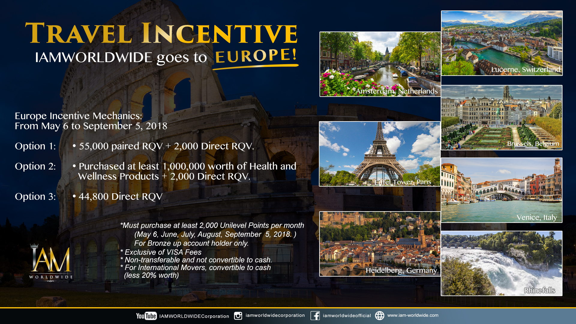 Europe Incentive